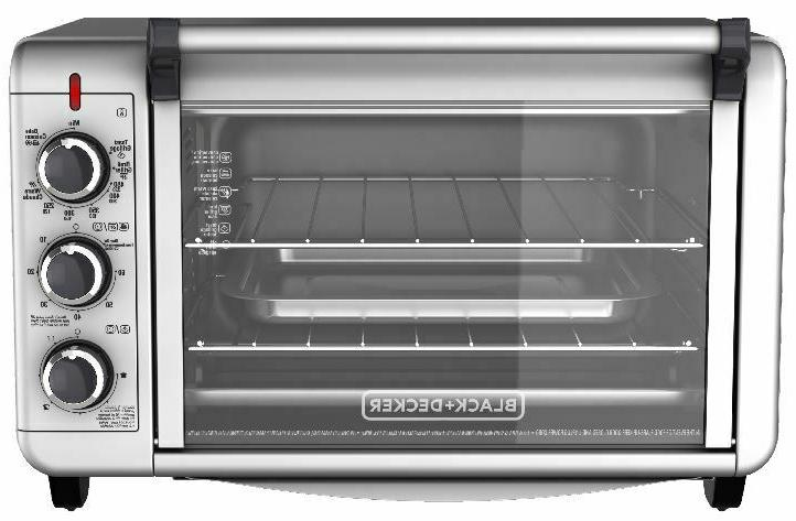 Stainless Steel Convection Toaster BLACK DECKER