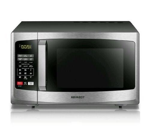 Stainless Steel Countertop Microwave Oven 900 Watt Kitchen D