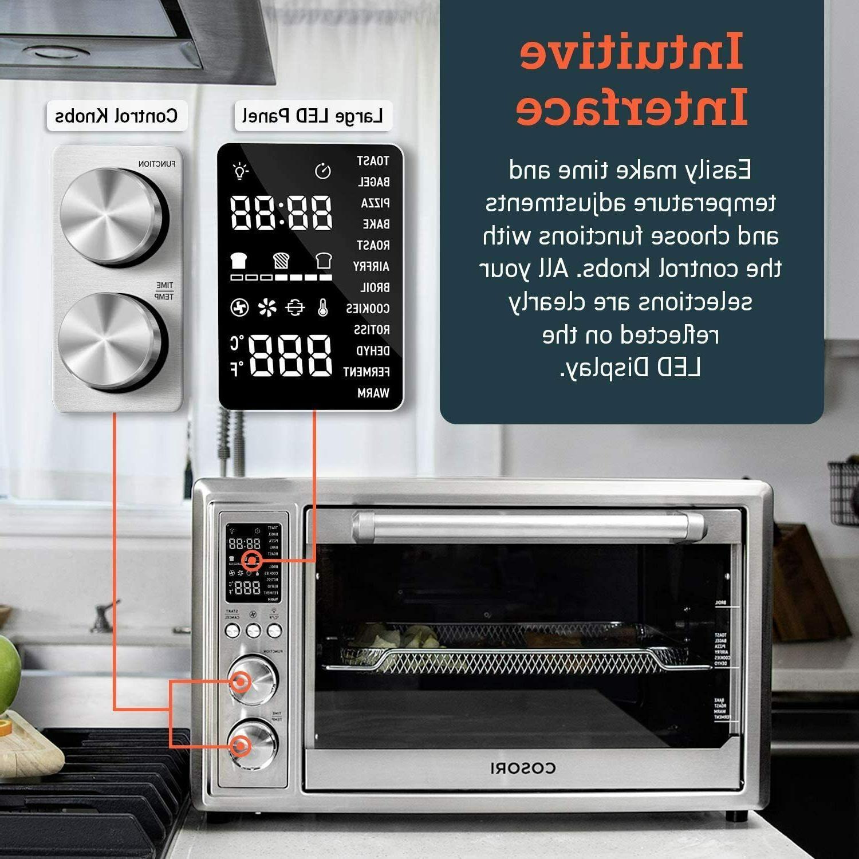 COSORI 12-in-1 Toaster Oven Rotisserie