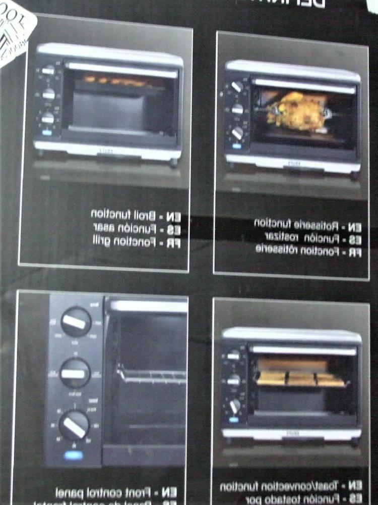 Krups TO740D50 Definitive Series Stainless Steel Convection Oven/Rotisserie