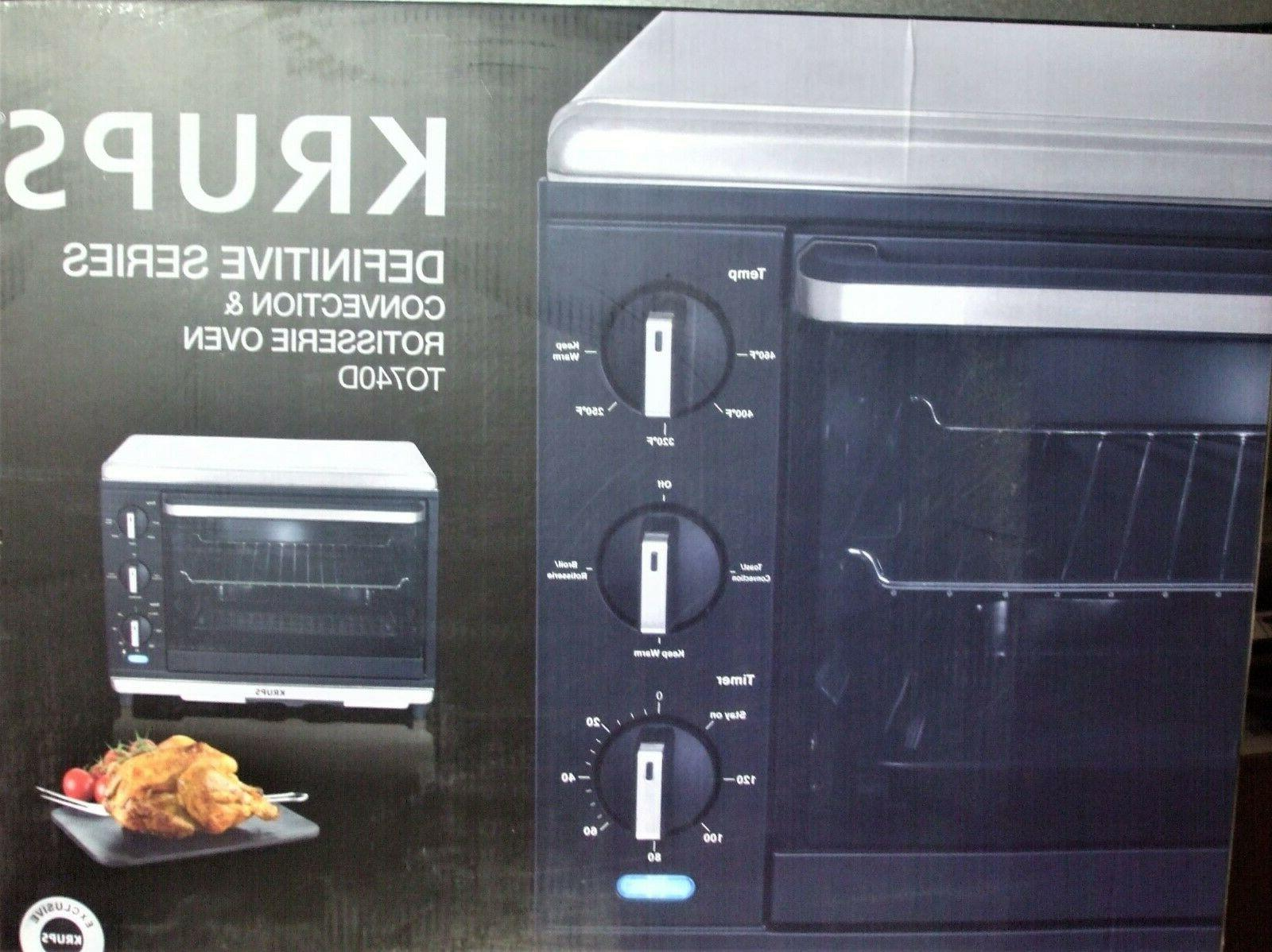 Krups TO740D50 Definitive Series Stainless Convection