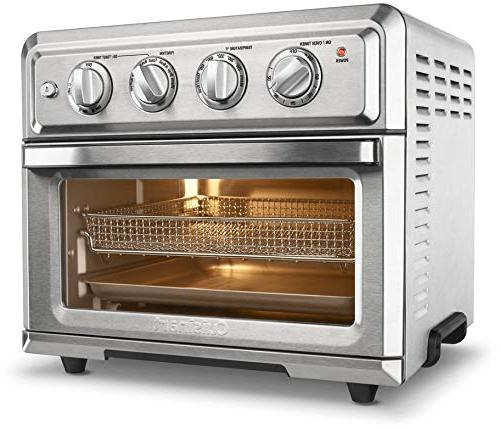 toa 60 air fryer toaster oven silver