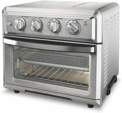 toa 60fr air fryer toaster oven silver
