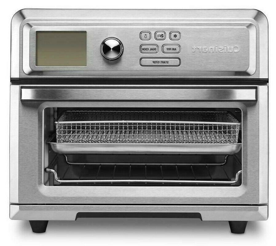 Cuisinart Toa 65 Airfryer Toaster Oven 6 Cu Ft Silver