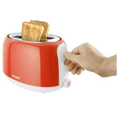 Sencor Toaster Crumb Tray Bread Defrost Slice Shut Off Red New