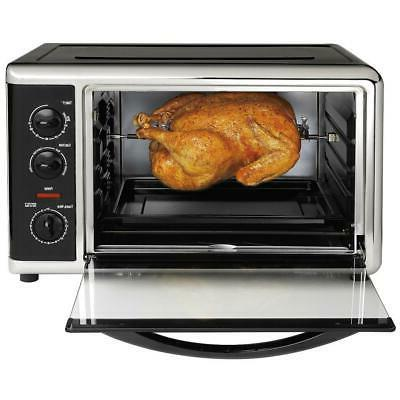 toaster oven 1500 watt temperature controls convection