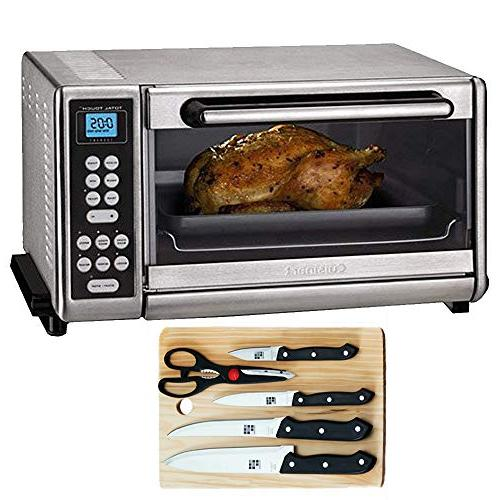 toaster oven broiler brushed stainless