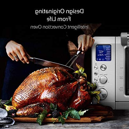 Toaster Convection Toaster Display IQ, 4 with Pre-set Cooking Functions, Brushed Stainless