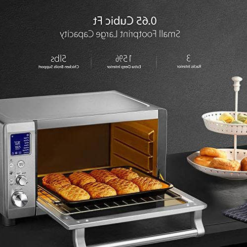Toaster Toaster Display Element 4 with Pre-set Functions, Brushed Steel,1600W