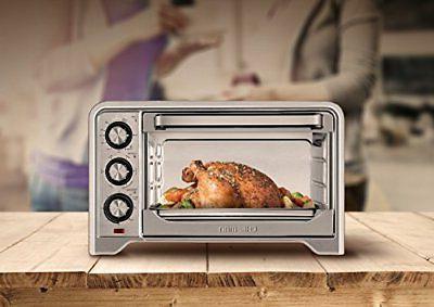 Chefman Toaster Oven Countertop Convection Slice Bake