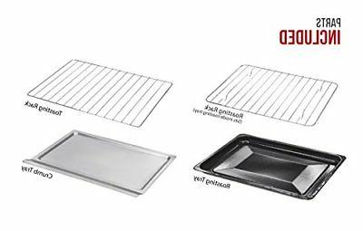 Chefman Oven Convection Stainless Steel Slice Bake