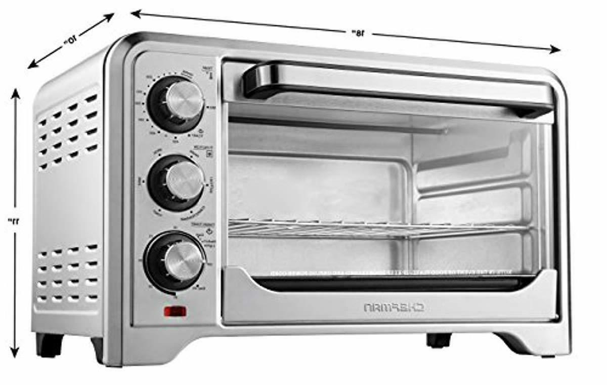 Chefman Toaster Oven Convection Control
