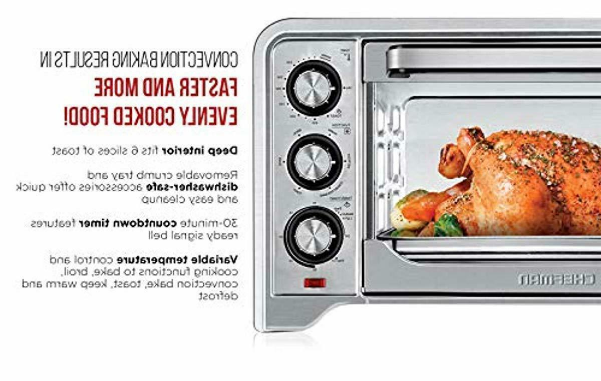 Chefman Oven Convection Control