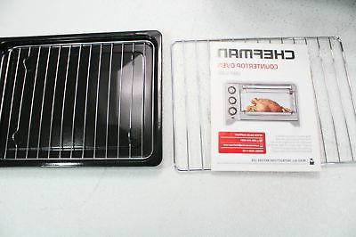 Chefman Toaster Oven Convection Temperature