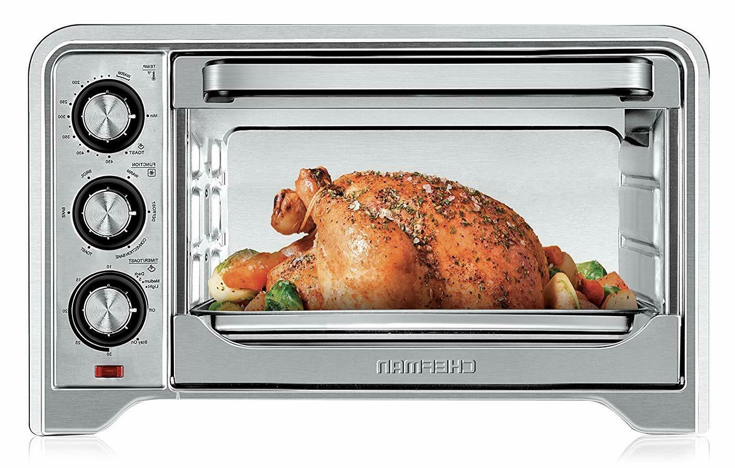 toaster oven countertop convection variable temperature cont