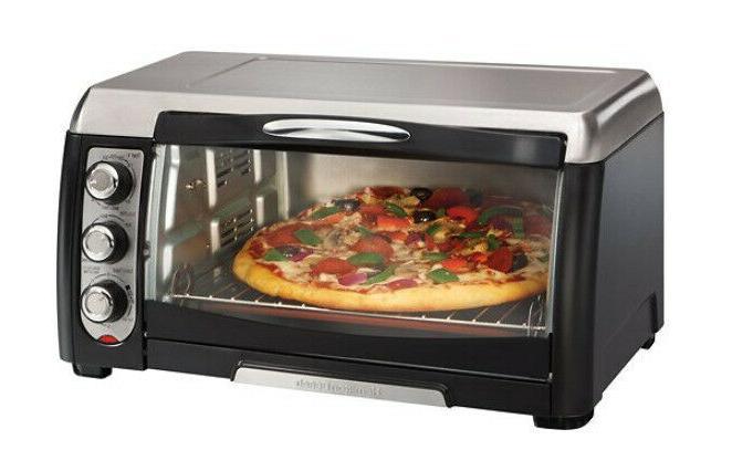 Toaster Oven - Hamilton Beach Convection Pizza Oven, Black/S