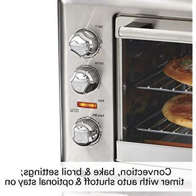 Toaster 31103DA Countertop Rotisserie Convection Oven, Extra-Large, Steel