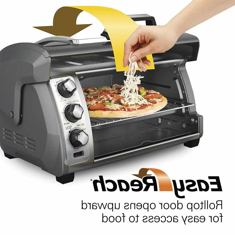 "Hamilton Beach Toaster Ovens 31123D Easy Silver "" Dining"