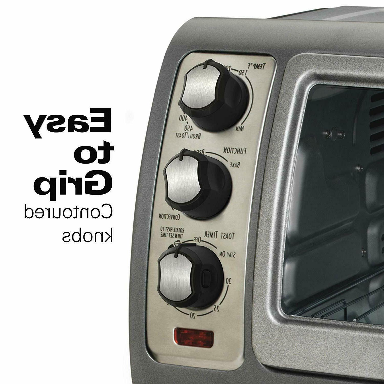 "Hamilton Beach Ovens 31123D Reach Oven, Silver """