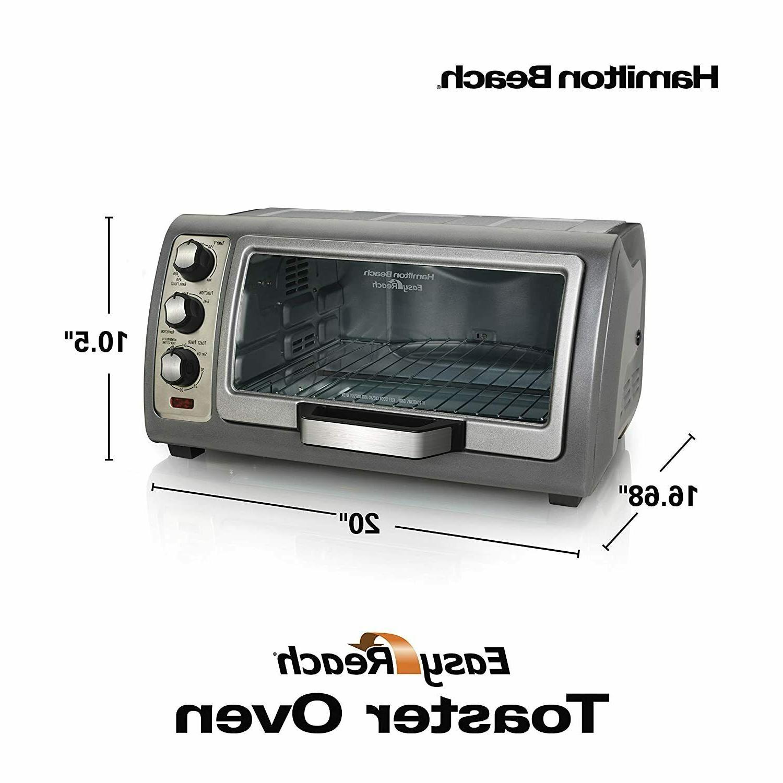 Hamilton Beach Toaster 31123D Easy Silver Kitchen