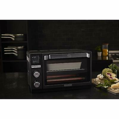 Calphalon Countertop Toaster Oven, Steel, Dark