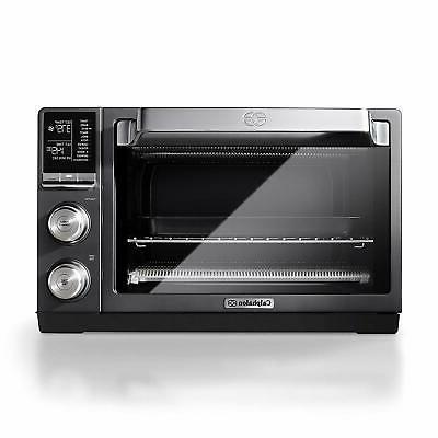 tscltrdg1 quartz heat countertop toaster oven stainless