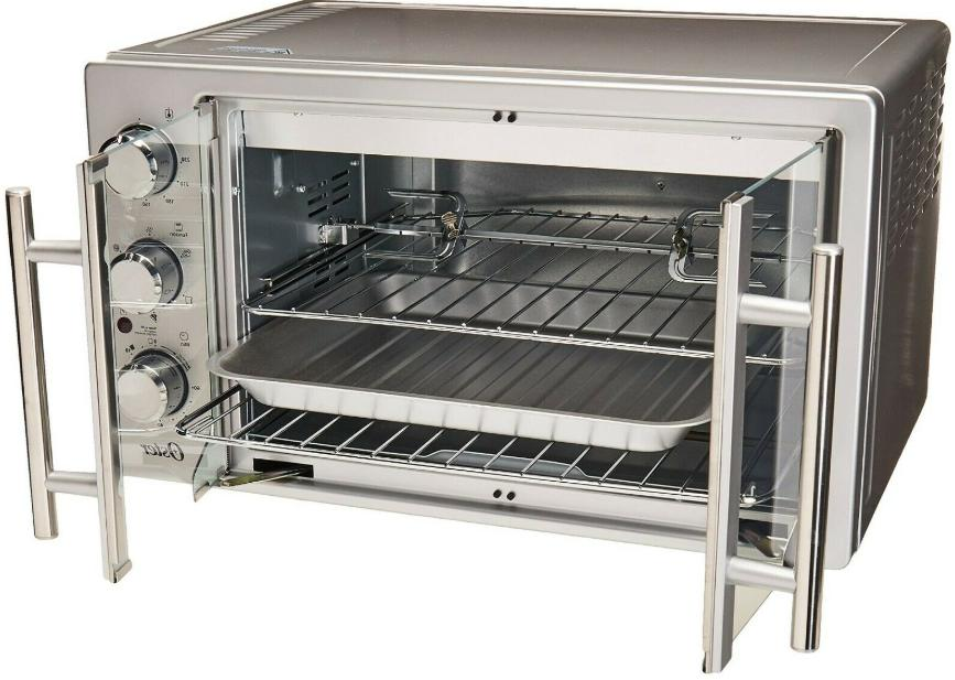 Oster TSSTTVFDXL Door Oven, Stainless Steel with