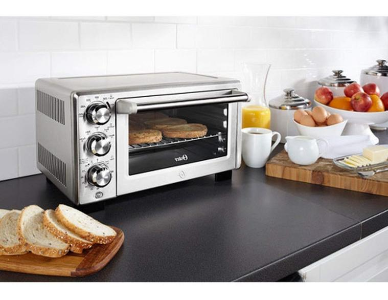 Turbo Convection Toaster Oven Stainless Steel Bake Kitchen