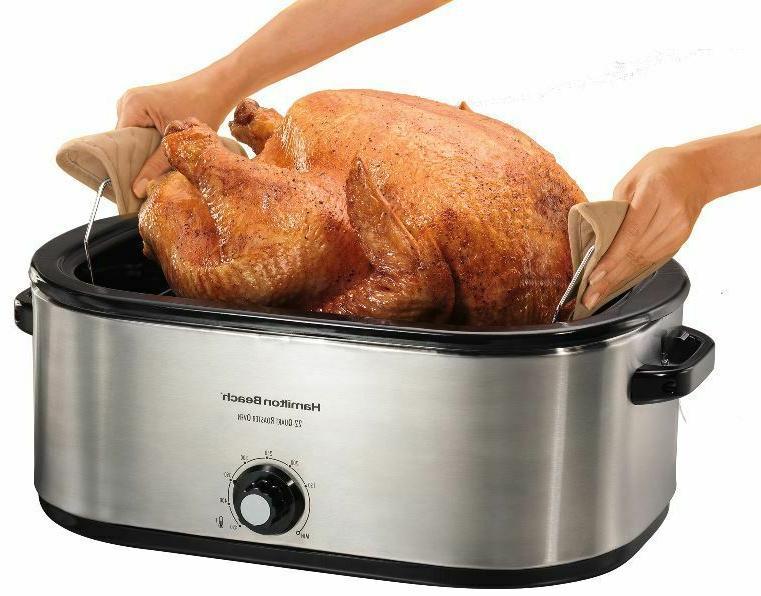 Turkey Roaster 28 lb Stainless Bake