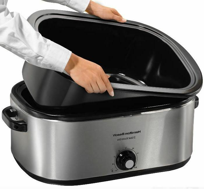 Turkey lb Electric Slow Cooker Stainless Steel Cook