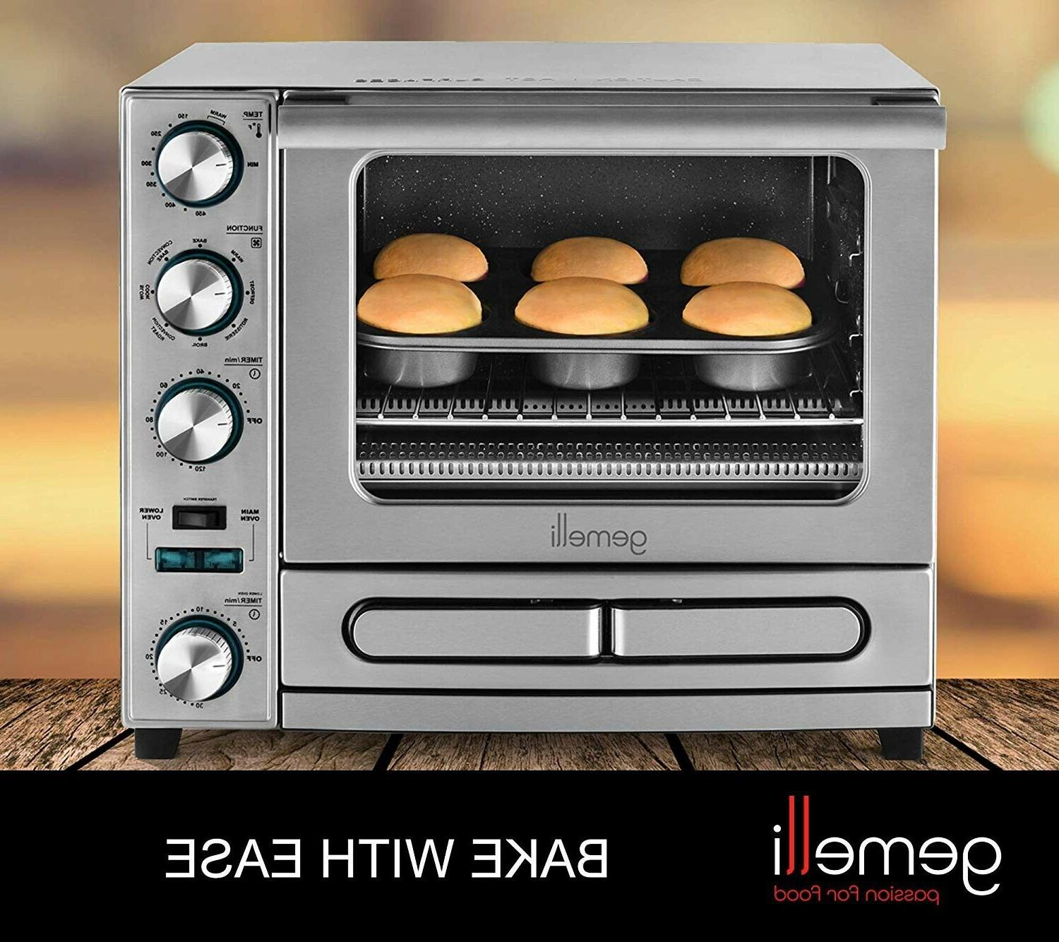 Gemelli Twin Oven, Drawer &
