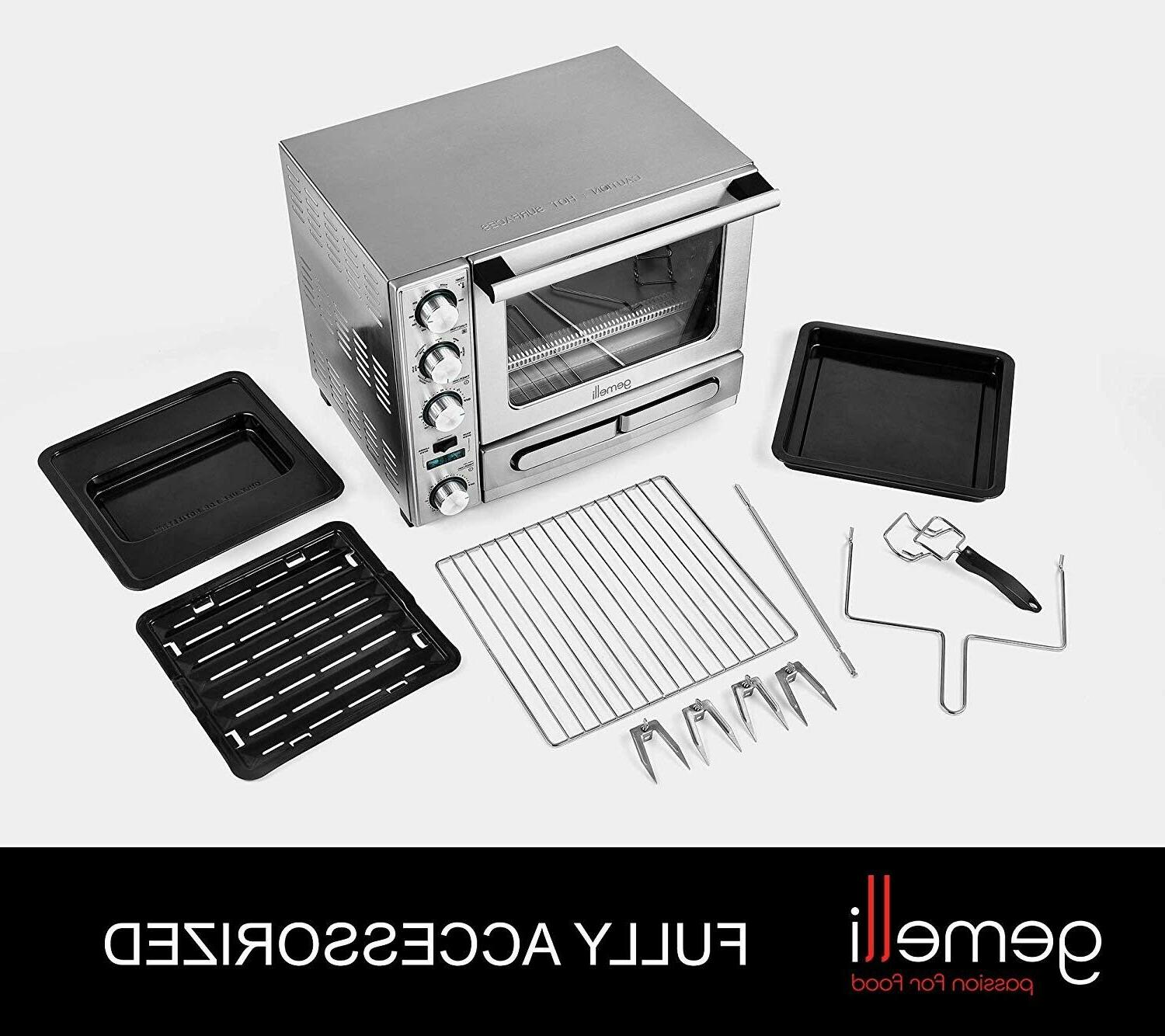 Gemelli Twin Oven Drawer