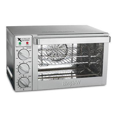 wco250x quarter size electric convection oven counter