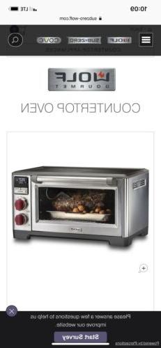 Wolf Oven In Box, Never