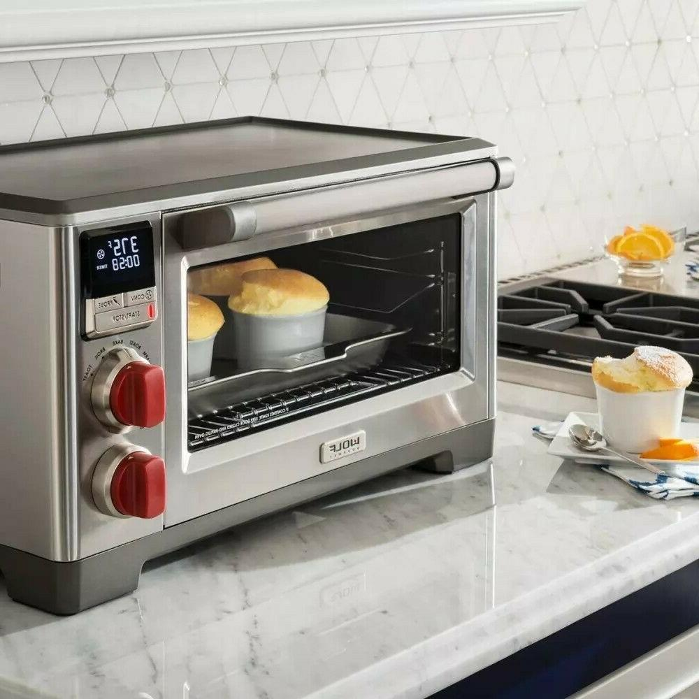 wolf gourmet wgco100s countertop oven convection
