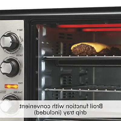 Hamilton Beach XL Convection Oven Stainless Steel