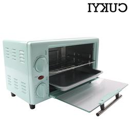 CUKYI mini electric pizza and bread <font><b>toaster</b></fo