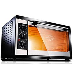 DULPLAY Mini 38l toaster Oven,Best convection, Capacity,Digi