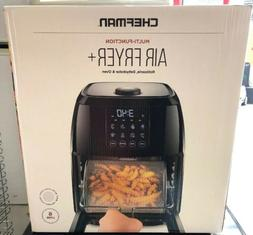 Chefman Multi-Function Airfryer+ Rotisserie,Dehydrator,& Ove