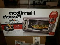 New HAMILTON BEACH 6-Slice Easy Reach CONVECTION OVEN Electr