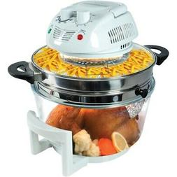 New NutriChef AZPKAIRFR48 Halogen Oven Air-Fryer/Infrared Co