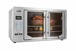New French Door Oster Digital Countertop Toaster Oven Stainl
