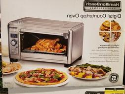 New Hamilton Beach Professional Digital Countertop Oven Conv