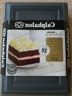 nonstick bakeware covered cake