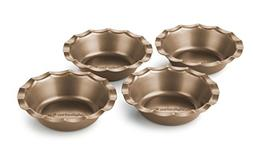 Calphalon Nonstick Bakeware Mini Pie Pan, Toffee