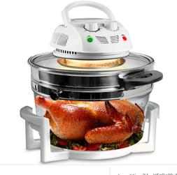 NutriChef Halogen Oven Air-Fryer/Infrared Convection Cooker,
