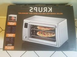 KRUPS OK710 Countertop Rapid Turbo Heat Convection Toaster O
