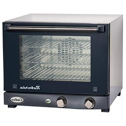 Cadco OV-003 Compact Quarter Size Convection Oven with Manua