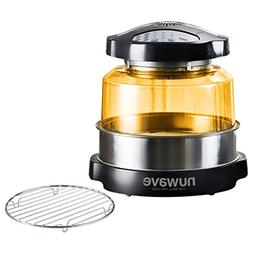 NuWave Oven Pro Plus with Stainless Steel Extender Ring and