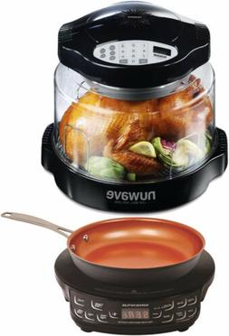 NuWave Pro Plus Oven  and PIC Flex Compact Induction Cooktop